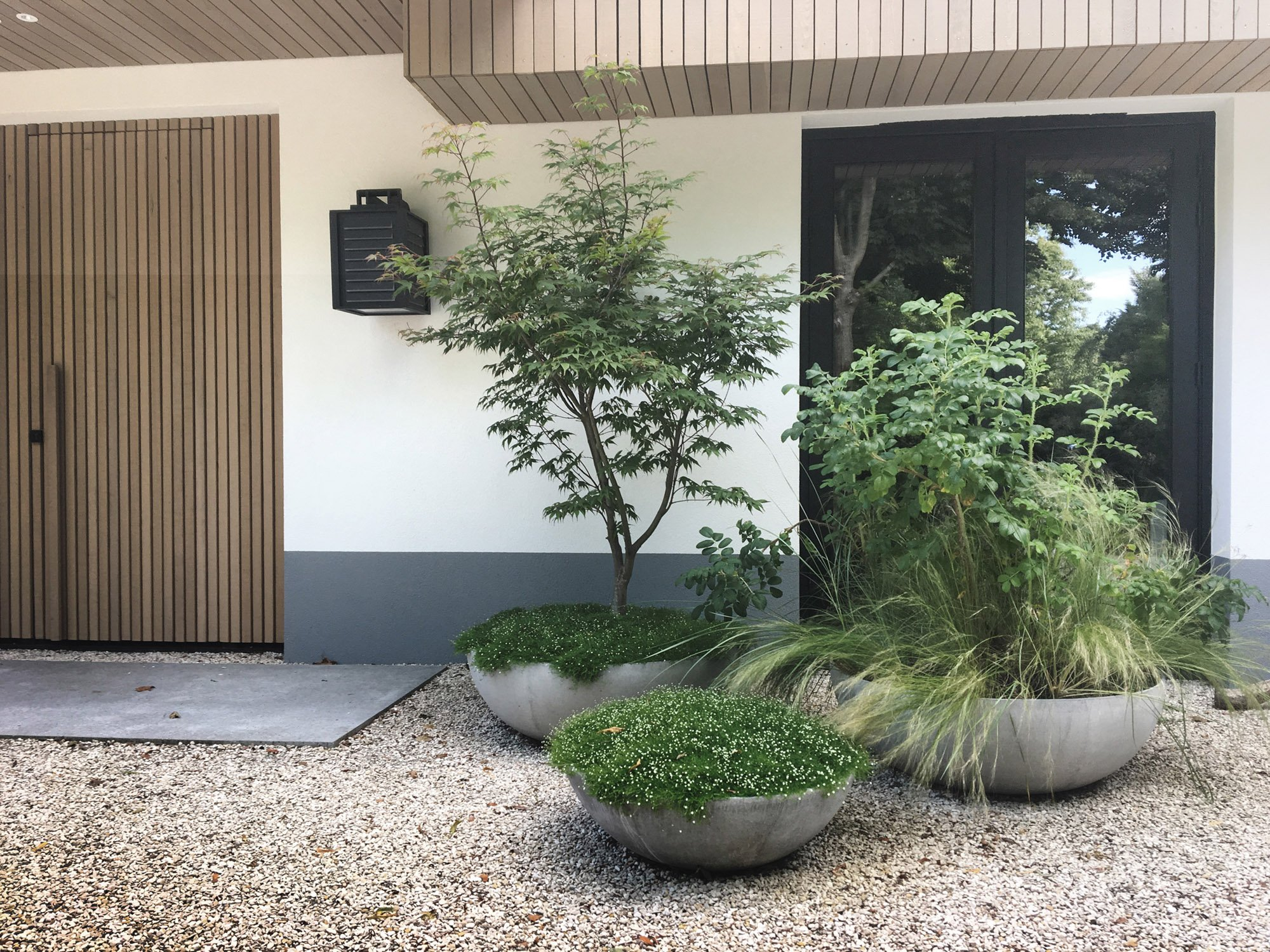 minimalistic - contemporary park garden around Nederheem | garden architecture by Andrew van Egmond