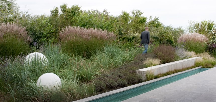 Dune garden in tune with nature