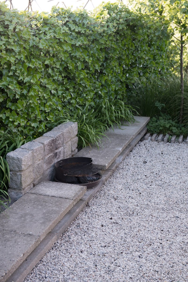 Re-use of old materials in new garden design | using materials that age beautiful | garden architecture by Andrew van Egmond
